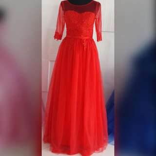 Red Gown #4