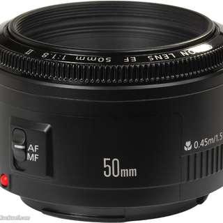 50mm f/1.8 ll