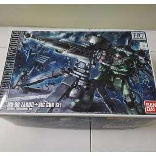 HG Gundam Thunderbolt Zaku + Big Gun