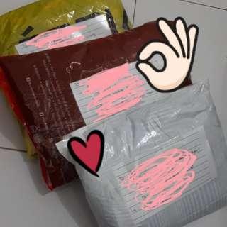Alhmdulillah pengiriman pertama hari ini :)