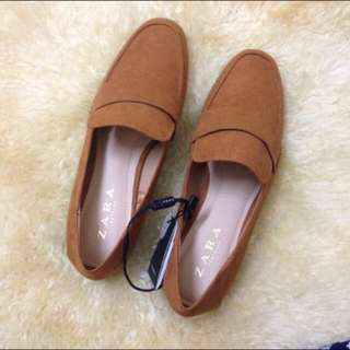(REDUCED) zara loafers