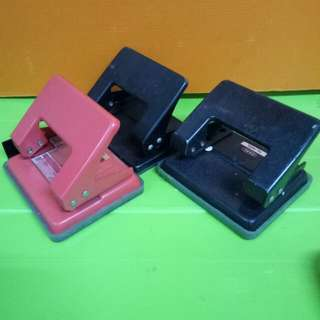 Assorted 2hole puncher