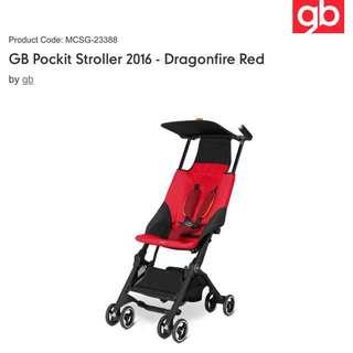 GB POCKIT 2016 Red