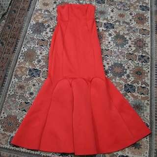 ASOS Formal Mermaid-Cut Gown