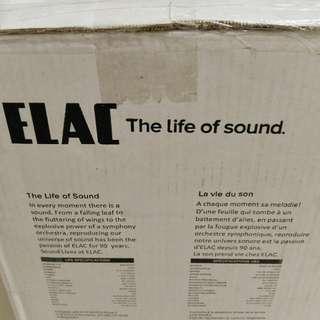 ELAC Uni-Fi UB5 speakers (BNIB, sealed)