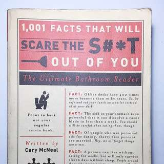 1001 Facts That Will Scare The S#*T Out Of You