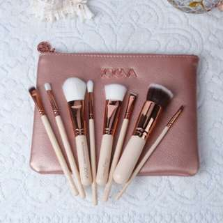 ZOEVA HIGH-END DUPE 8pcs MAKE-UP BRUSH SET