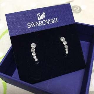 SWAROVSKI 水晶耳釘