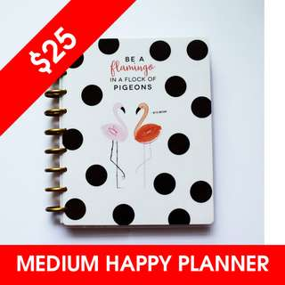 [IN STOCK] 2017-2018 CLASSIC Happy Planner® - Flamingo
