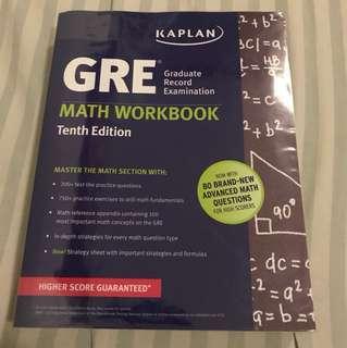 Kaplan GRE Math Workbook - 10th Edition