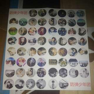 [WTS] BTS Unofficial Sticker