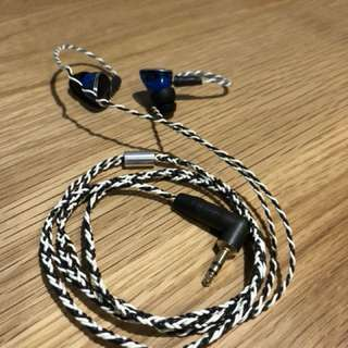 MMCX 單晶銅耳機升級線 (UE, CM, Shure, Westone適用)