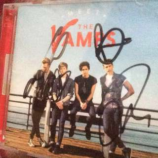 The Vamps SIGNED ALBUM