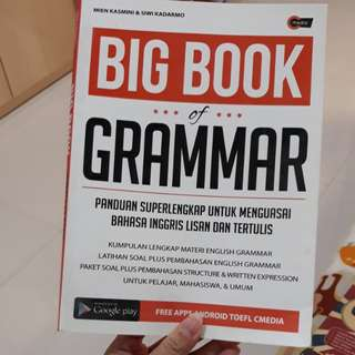 Big book of grammar Inggris