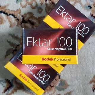 35mm Kodak Ektar 100 Color Fresh Film ( iso 100 ) 135 format