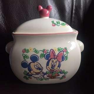 Tokyo Disneyland 米奇陶瓷茶葉罐