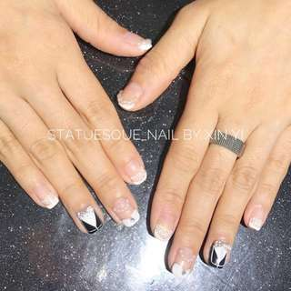 CLASSIC GEL MANICURE WITH DESIGN FROM $35 (JURONG WEST)