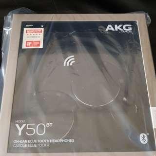 Brand new (box unopened) AKG Y50BT Headphones