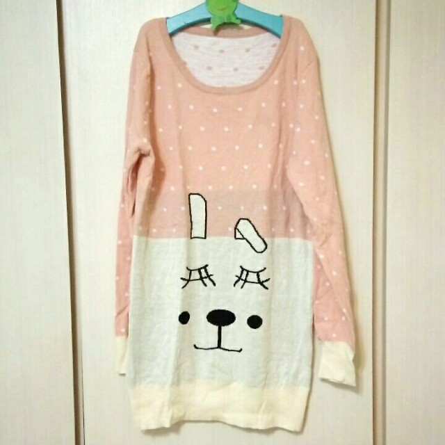 近新兔子毛衣/針織上衣(滿299免運)#我的女裝可超取