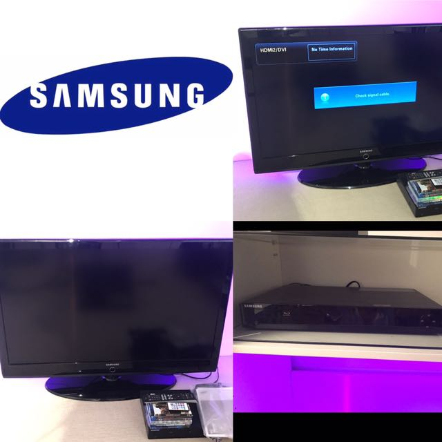 $400 combo package Samsung 36' flat screen TV & Samsung Blue Ray