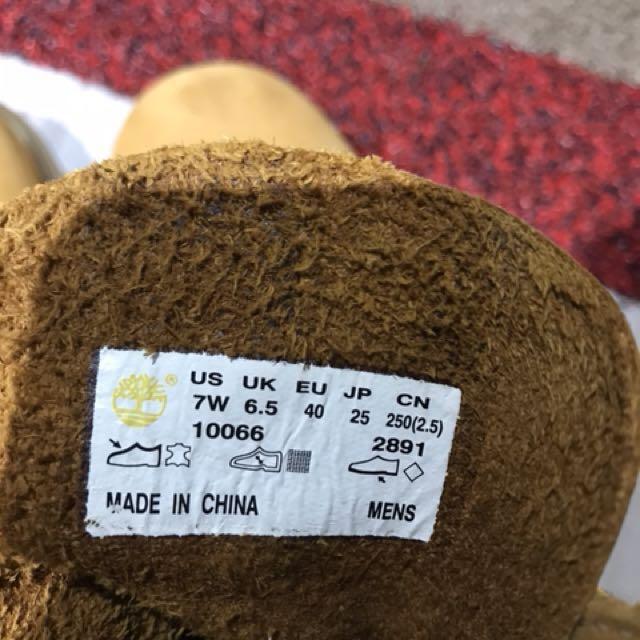 40號 Timberland 購自日本 好新 鞋底無蝕