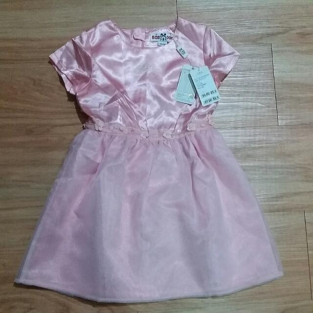 巴布豆短袖連身裙(6號)