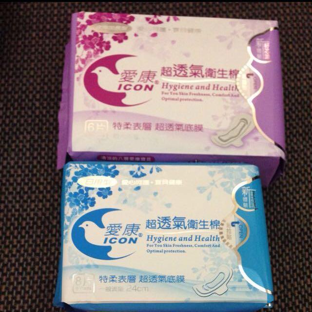 「現貨」愛康🌿超透氣中藥衛生棉
