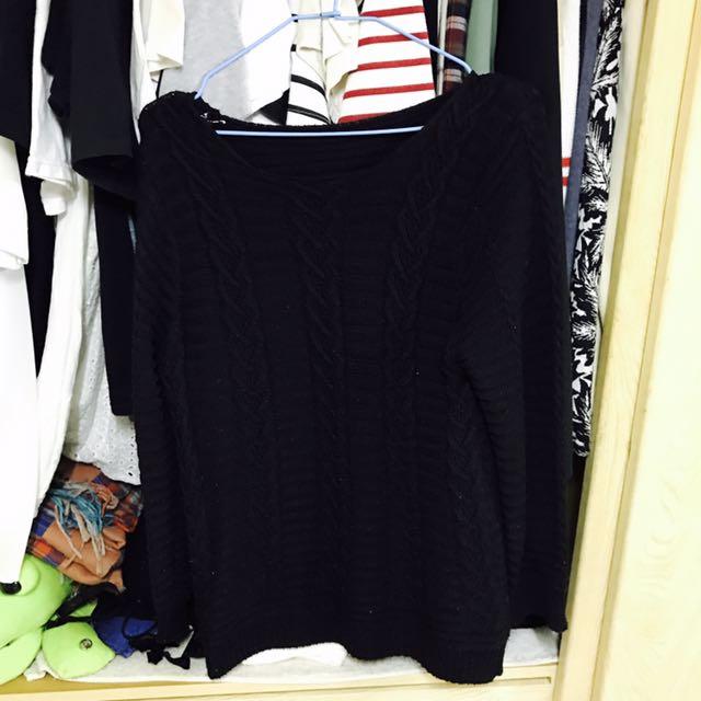 黑色毛衣#我的女裝可超取