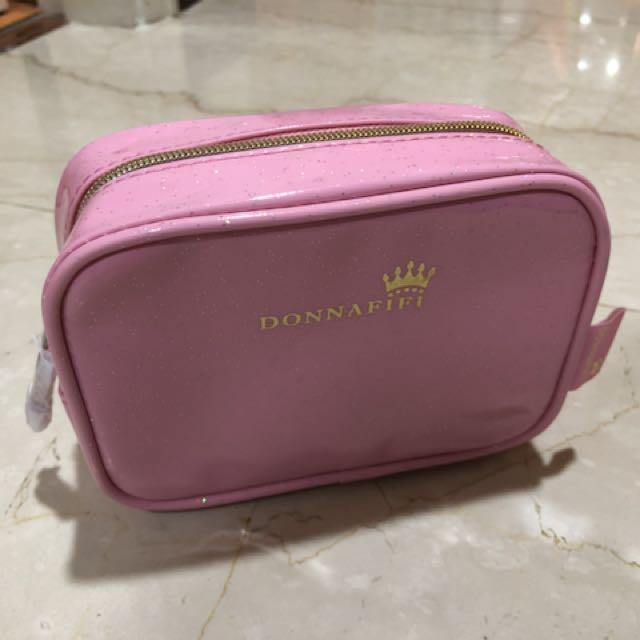 化妝包(粉色)(淺藍色)