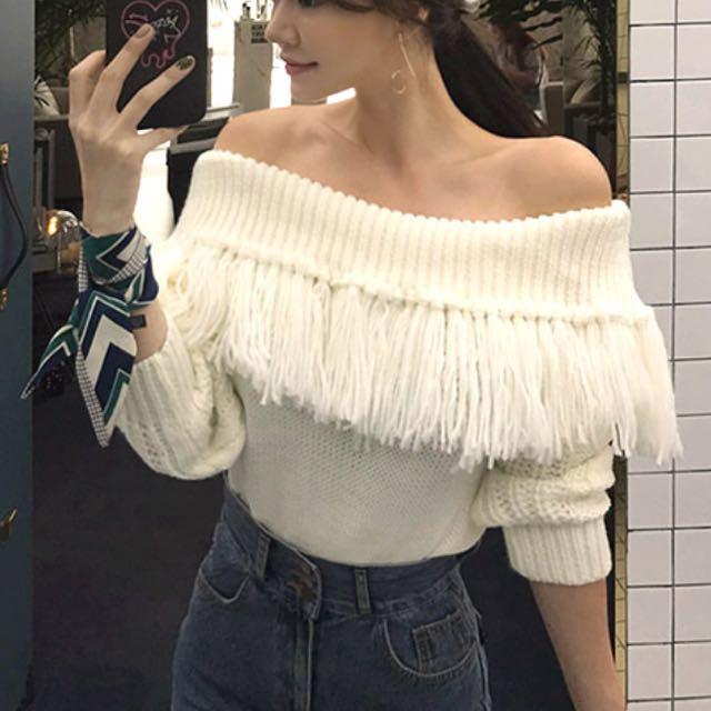 平口時尚毛衣