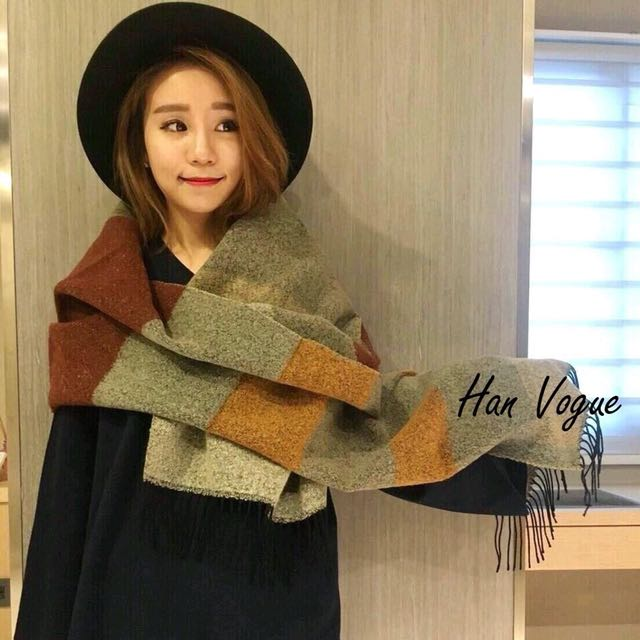 正韓 圍巾