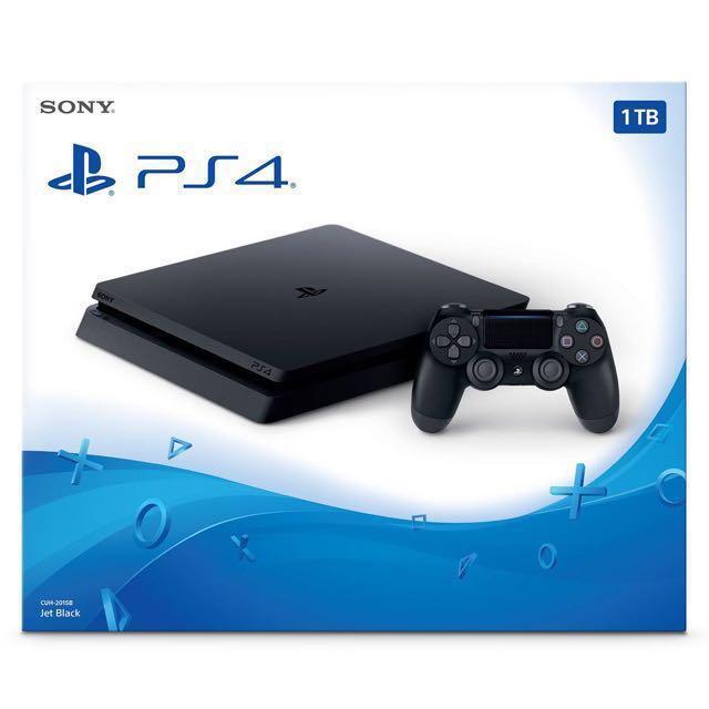 美國代購 🇺🇸 2017 New PS4 Slim 1TB