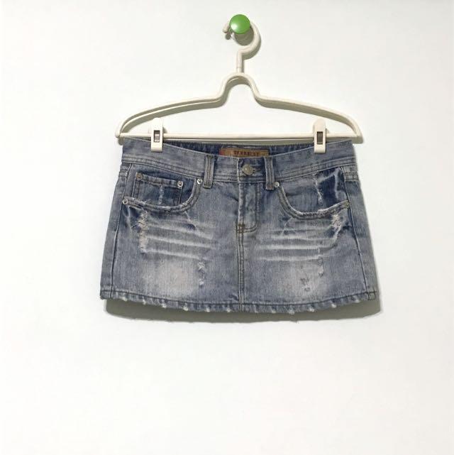 #清衣櫃# 刷色牛仔短裙 #我的女裝可超取