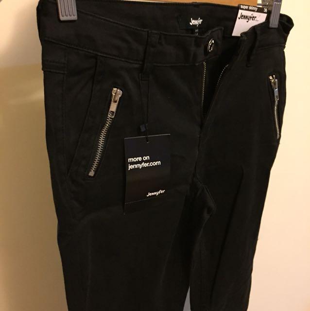 黑色窄版長褲 顯瘦 #我的女裝可超取