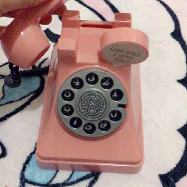 現貨 賠本售出 電話存錢筒 #我的家飾可超取
