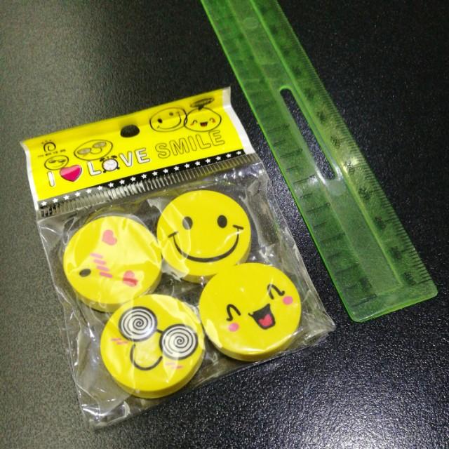 🆕 😊😍😄🤓 Erasers
