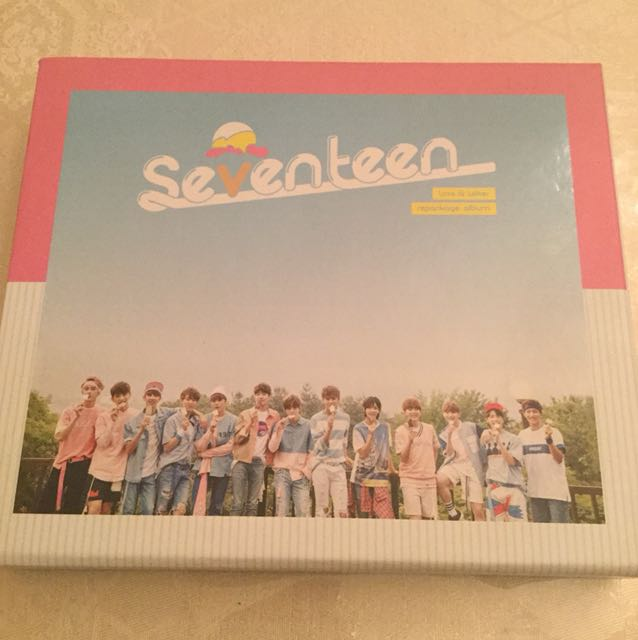 !! BRAND NEW SEVENTEEN LOVE AND LETTER REPACKAGE ALBUM !!