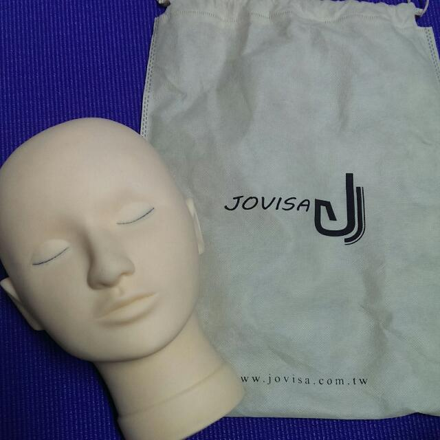 二手@ 美睫品牌Jovisa頂極專用練習種接睫毛人頭