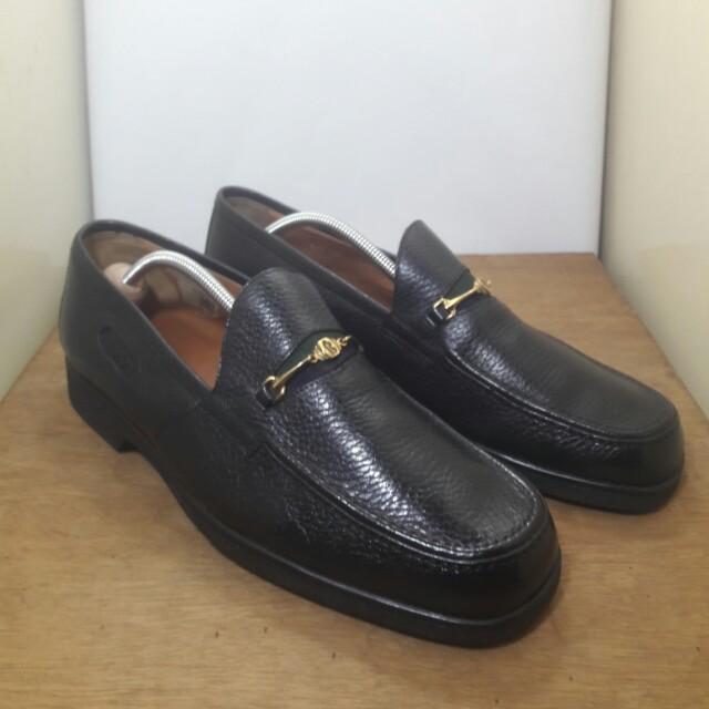 A. Testoni Bally Ferragamo Gucci Horsebit Loafers for Men