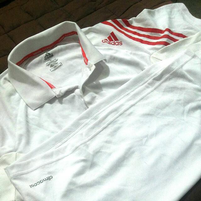 Adidas Large Women Badminton Polo Shirt