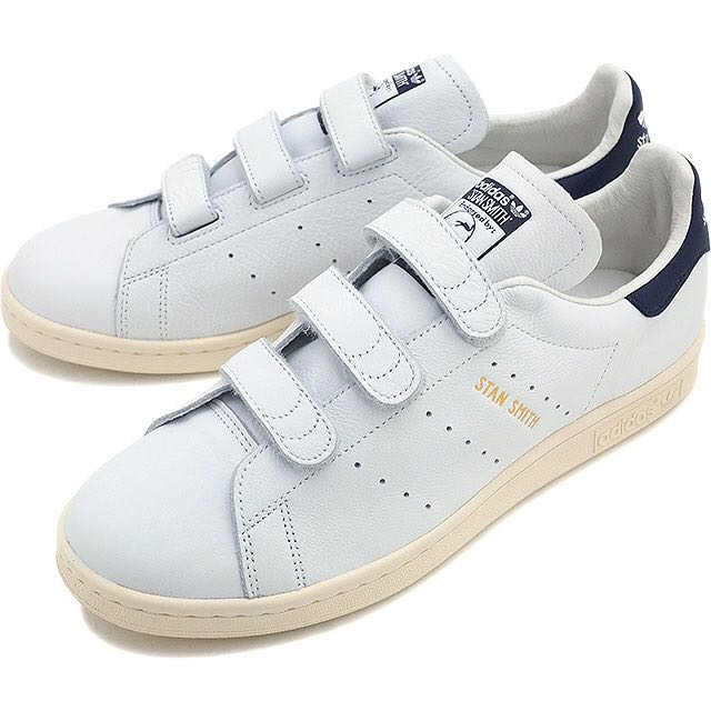 035d5d7686922f Adidas Stan Smith Velcro (Navy) BNIB