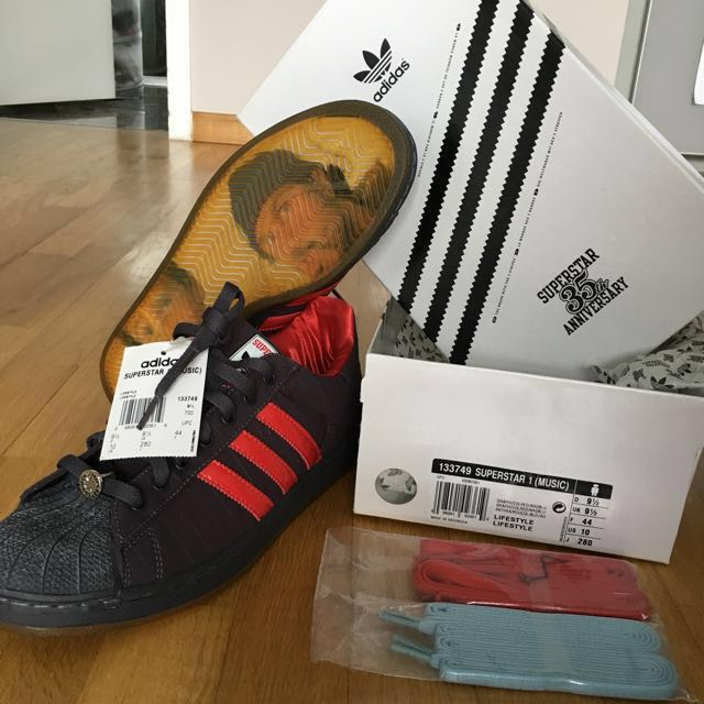 c75cb0227a1c9e Adidas Superstar 35th Anniversary Music Red Hot Chili Peppers RHCP ...