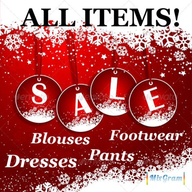 ALL ITEMS ON SALE