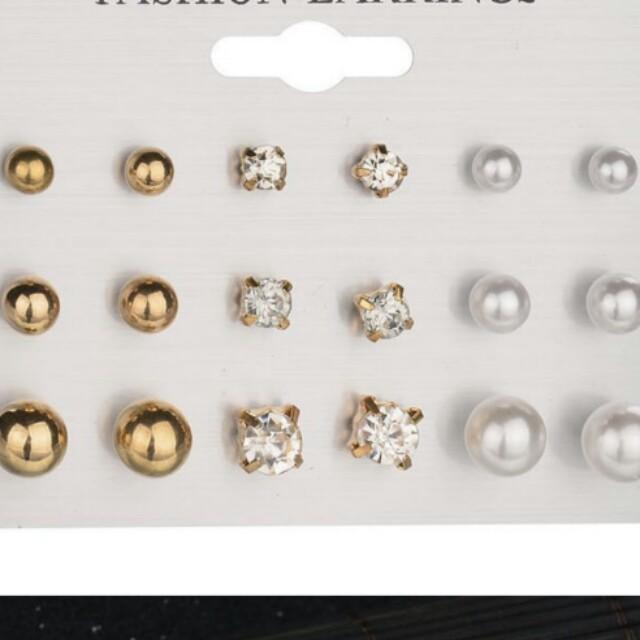 Anting pearl antingtassel earring