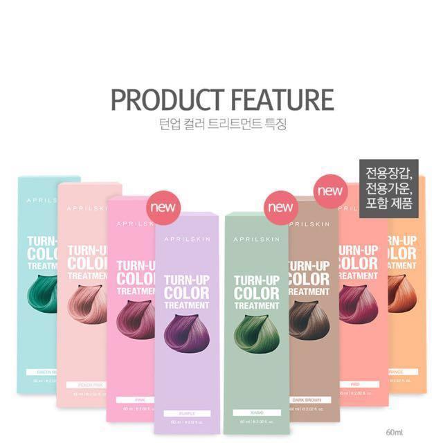 Aprilskin Hair Color Treatment Health Beauty Hair Care On Carousell
