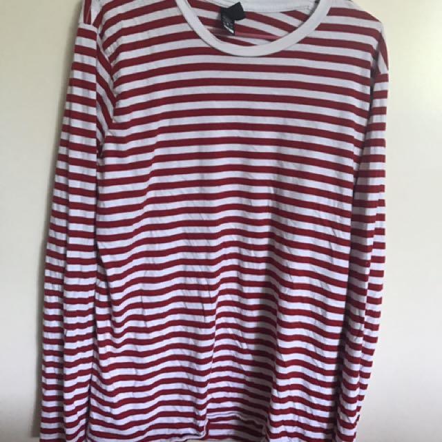 as colour stripy top