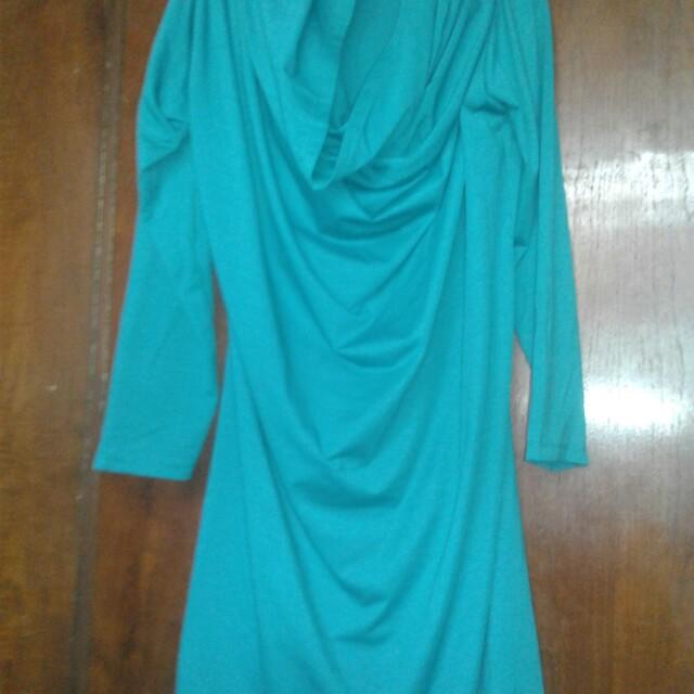 Atasan hijab instan