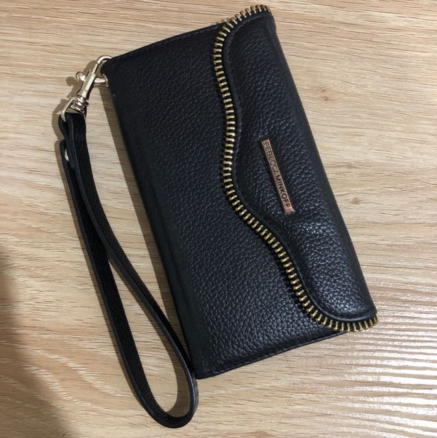 AUTHENTIC REBECCA MINKOFF ZIP IPHONE 6/7/8 WALLET CASE
