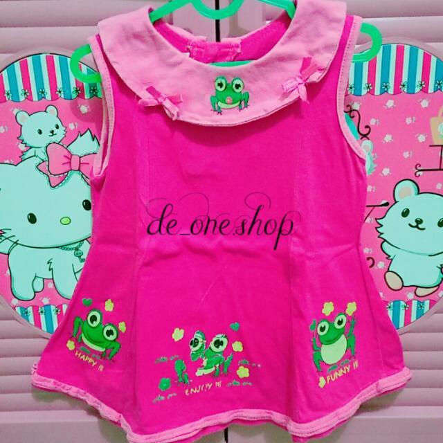 Baju 🐸 Pink