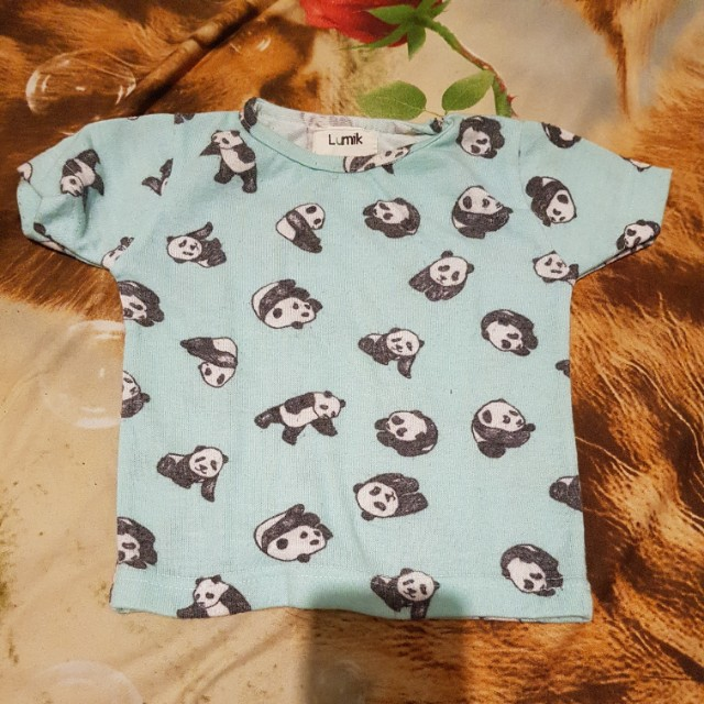 Baju anak motif beruang